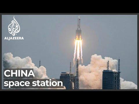 China Space module launched